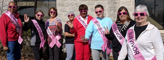 Photo of breast cancer survivors